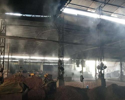 车间喷雾降尘设备